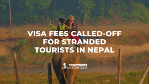 visa fees called-off for stranded tourists in nepal